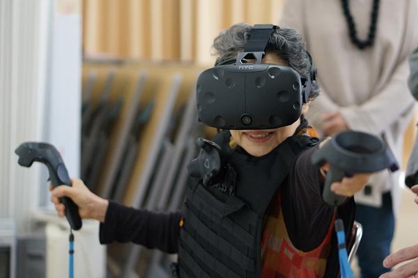 VRニュースイッキ見高齢者介護用VRのイメージ