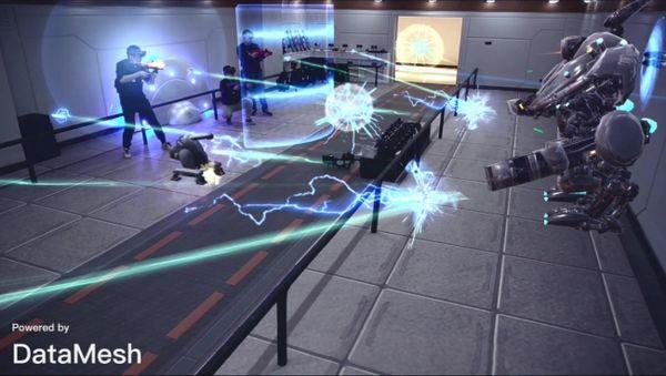 VRニュースイッキ見MRシューティングゲーム