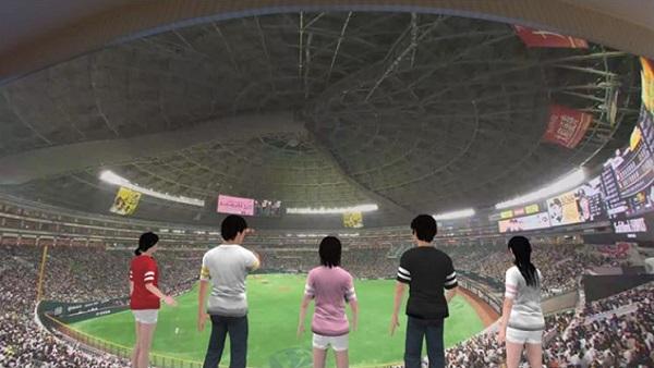 VRニュースイッキ見_VR野球観戦が5Gで可能に