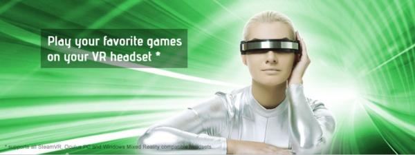 VRで遊べるようにするアプリ