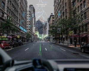 フロントガラスがARディスプレイに!車載用AR開発企業がポルシェなどから資金調達!