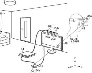PSVRをワイヤレス化!?ソニーが関連特許を申請!