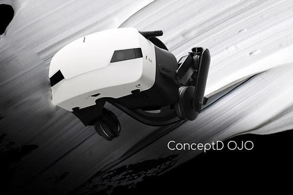 高解像度の映像を表示!Windows MRヘッドセット「ConceptD OJO」をAcerが発表!