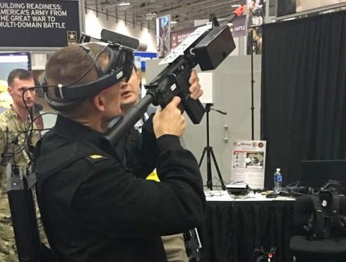 軍用VRトレーニングシステム