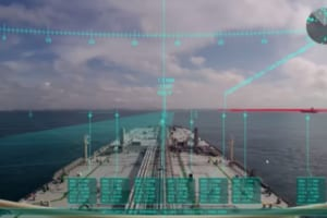 AR航海情報表示システムの利用イメージ