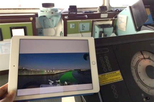 AR航海情報表示システムでARを使っている