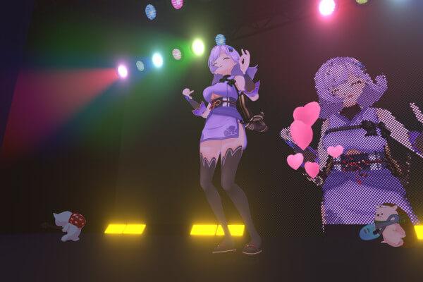 朝ノ瑠璃Vライブ可愛い写真