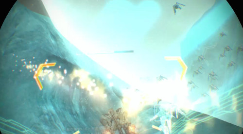 PSVR版ANUBISの激しいバトル