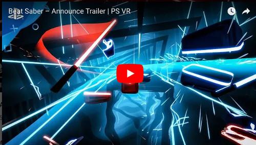 E3 PSVR「Beat Saber」