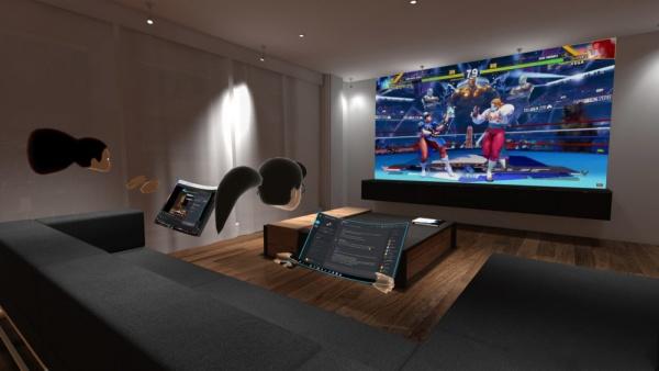 家庭用ゲーム機をVR内でプレイ!