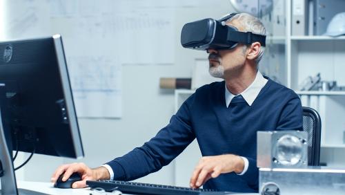 VRを導入する会社