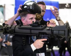 軍用目的での活用進むVR!バズーカの操作をリアルに再現するシミュレーターが登場