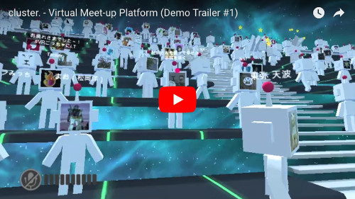 clusterのPV動画