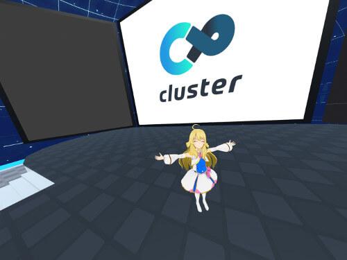 clusterとくらすたーちゃん