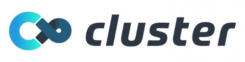 クラスターのロゴ