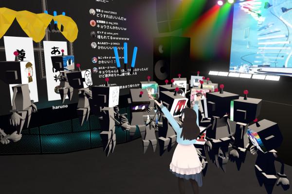VRライブ花鋏キョウコメント対応