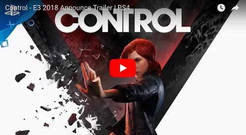 E3 PS4ゲーム「CONTROL」