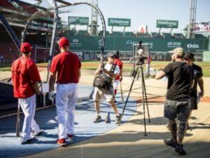 メジャーリーグ選手のVR動画
