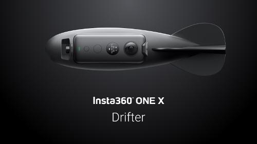 Insta360 ONE Xドリフトダーツ