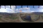 5Gドローンで阿蘇の観光スポットを空中散歩