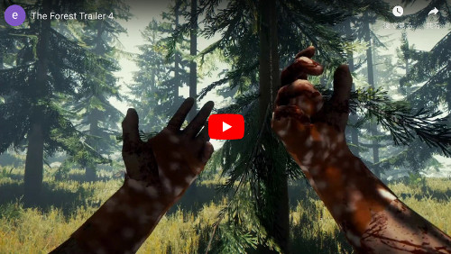 HTCviveゲーム「Forest」動画