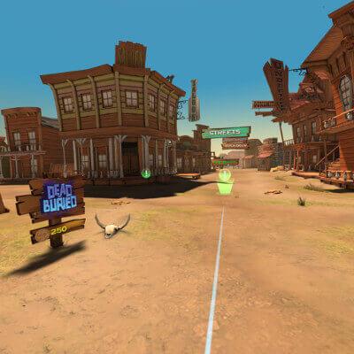 Oculusgoのゲームスクショ