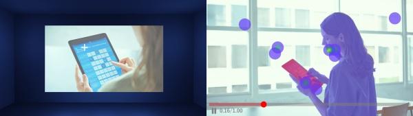 VRを活用した視線カウンター