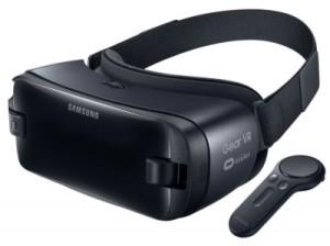 リモコンの付いたGear VR