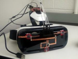 改造されたGear VR