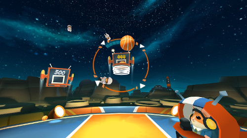Oculus Goの無料バスケVRゲーム