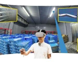 VR食品安全人材育成ソリューション|食品工場のリスクをVRで体感