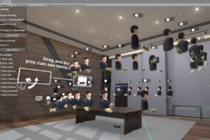 多人数の接続が可能な通信サーバー「OpenRelay」今冬公開!VR空間のルームで504人の接続も実現
