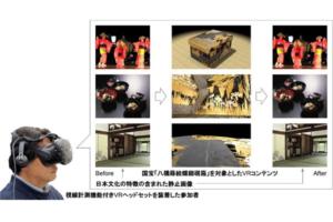 VR鑑賞の有効性を検証!凸版印刷と早稲田大学が文化財の新たな鑑賞方法を共同研究