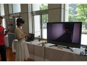 防災VR体験 画像