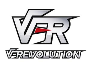 ゲーム特化型VRプラットフォーム「V-REVOLUTION」ロゴ