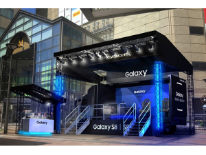 Galaxy Studio(キャラバンカー型)福岡 ブースイメージ
