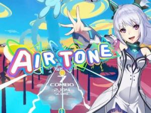 VRエアーリズムアクションゲーム「Airtone」イメージ