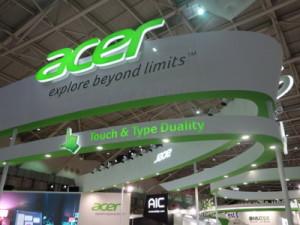 Acerのブース