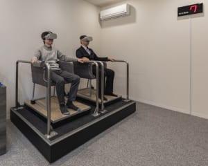 モデルルームで「VR免震」を体感!建設中のタワーマンションモデルルームで開催!