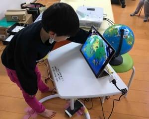 AR地球儀で知育革命!コミュニケーション能力の向上と保育士の負担軽減も!