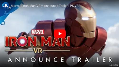 新作 PS VRゲームアイアンマンVR