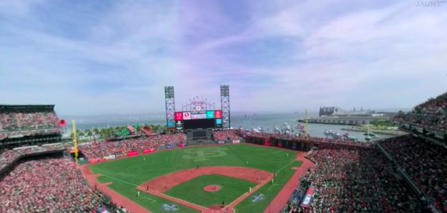 メジャーリーグの試合もVRで見られる