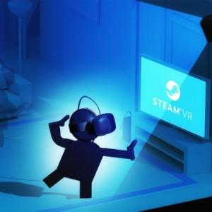 Steam VRをセットアップするイメージ