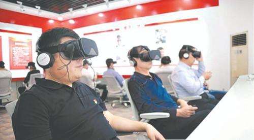 中国のVR軍事訓練