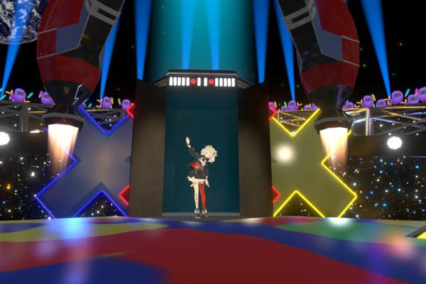 輝夜月VRライブ終了