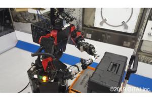 VRでロボットを遠隔操作!宇宙飛行士の負担軽減を目指すGITAIが  最新の実験動画を公開