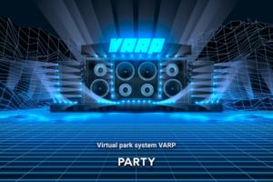 VR空間で全てのエンタメ共体験を可能にする「VARP」始動!第1弾は7月のVRライブ