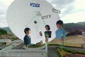 VRコラボサービス「NEUTRANS BIZ」を活用し社員研修!山口県の衛星通信施設をVRで見学
