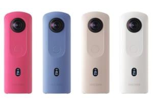 シンプルな操作と多彩な機能!360°カメラ「RICOH THETA SC2」12月発売