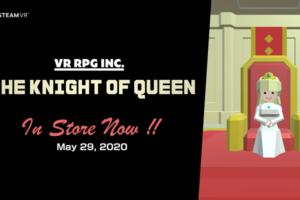 VR専用ターン制コマンドバトルRPG「ナイトオブクイーン」Steam版リリース